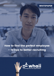 Whaii Whitepaper - How to find the perfect employee