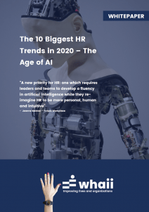 Whaii Whitepaper - The 10 biggest HR Trends in 2020