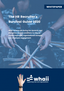 Whaii Whitepaper - The HR Recruiters Survival Guide 2020