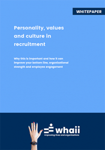 Personality, values and culture in recruiting